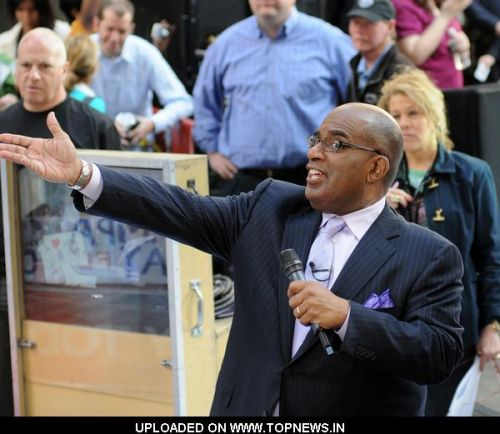 "Al Roker at Jennifer Hudson in Concert on NBC's ""Today Show"" - May 15, 2009"