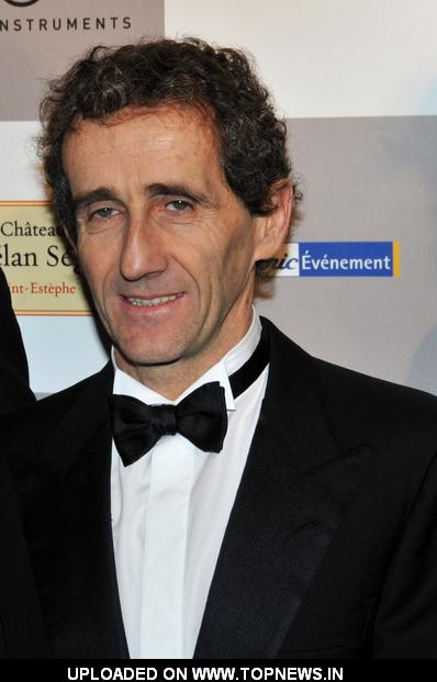 Alain Prost at 2009 Paris International Auto Show - Opening Ceremony