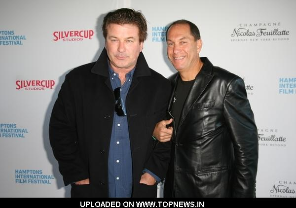 Alec Baldwin at 18th Annual Hamptons International Film Festival - The Chairman's Reception