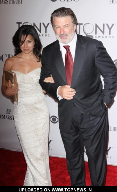 Alec Baldwin at 65th Annual Tony Awards Arrivals