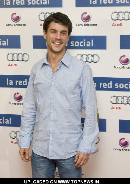 "Alejo Sauras at ""The Social Network"" Madrid Photocall"