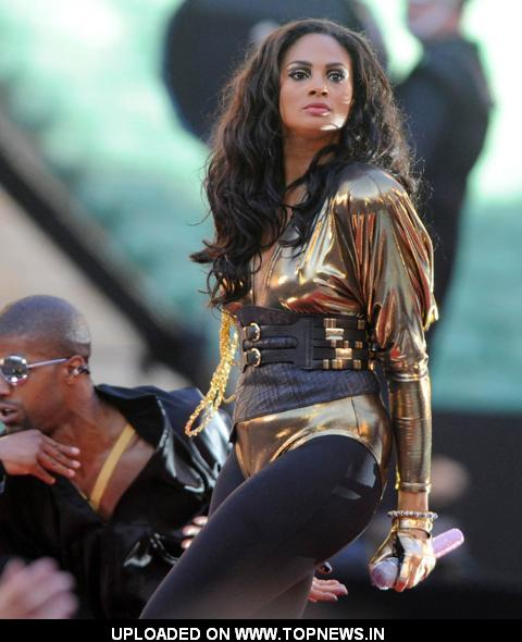 Alesha Dixon Heroes Concert held at Twickenham Stadium