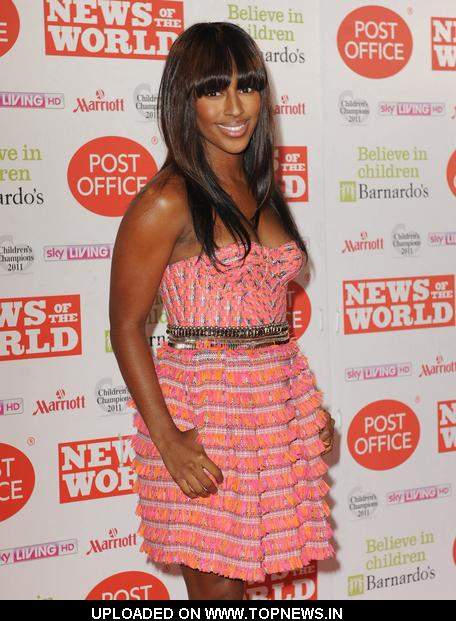 Alexandra Burke at Children's Champions Awards 2011 Arrivals