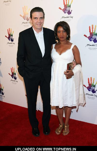 "Alfre Woodard at ""Mandela Day"" Awareness Event - Arrivals"