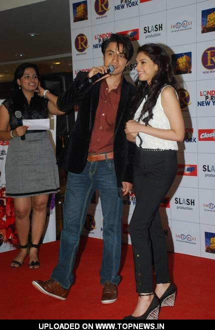 Ali Zafar and Aditi Rao Hydari at London Paris New York movie's Valentine's Day Promotion event