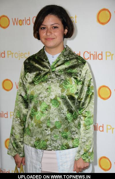 Alia Shawkat at 2010 World Child Project's Art Gallery Auction and ...