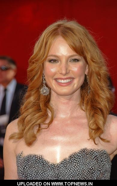 Alicia Witt  at 61st Annual Primetime Emmy Awards - Arrivals