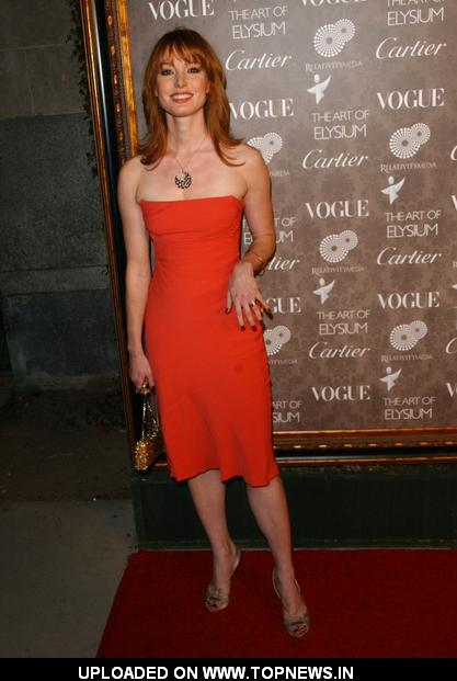 Alicia Witt at 2nd Annual The Art of Elysium Heaven Gala - Arrivals
