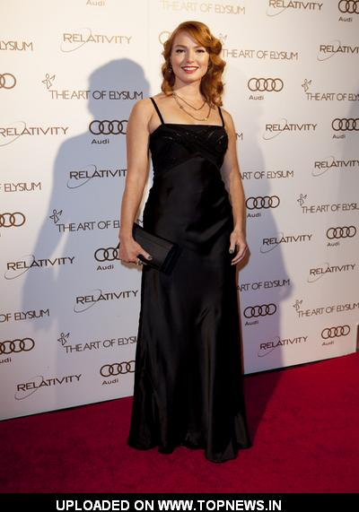 "Alicia Witt at The Art of Elysium 5th Annual ""Heaven"" Gala Black Tie Charity Gala - Arrivals"