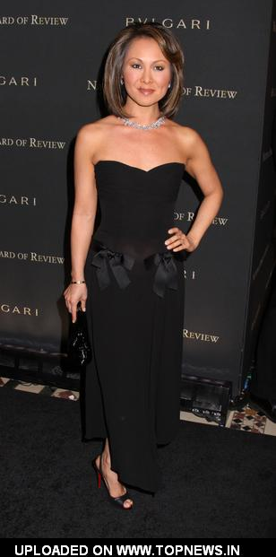 Alina Cho at 2008 National Board of Review of Motion Pictures Awards Gala - Inside Arrivals