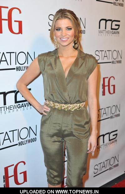 Amber Lancaster at FG Magazine's February 2011 Issue Launch Party Hosted by Jessica Hall - Arrivals