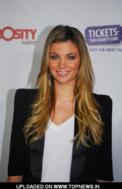 "Amber Lancaster at 3rd Annual Generosity Water's ""Night of Generosity"" Benefit Party - Arrivals"