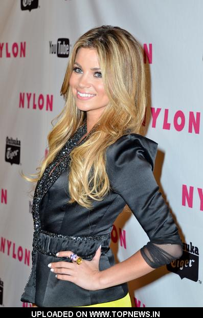 Amber Lancaster at Nylon Magazine's 2011 May Young Hollywood Issue Celebration - Arrivals