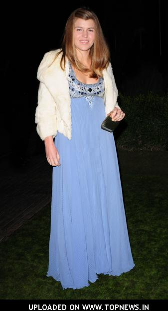 Amber Nuttall at Conservative Party Black & White Ball - February 6, 2008 - Arrivals