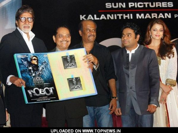 Amitabh Bachchan at Audio Launch of  Movie 'Enthiran - The Robot'