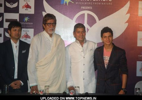 Amitabh Bachchan launches Aadesh Shrivastav's album based on 26/11 at Cinemax