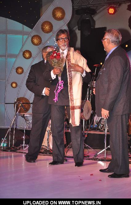 Bollywood actor Amitabh Bachchan at the IDMA conference held at Lailt Hotel, Mumbai