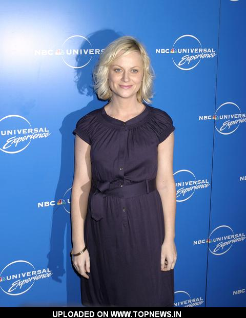 Amy Poehler at The 2008 NBC Universal Experience Upfronts - Arrivals