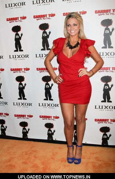 Angel Porrino at 5th Anniversary Celebraton for Carrot Top at Tacos and Tequila in Las Vegas on December 20, 2010
