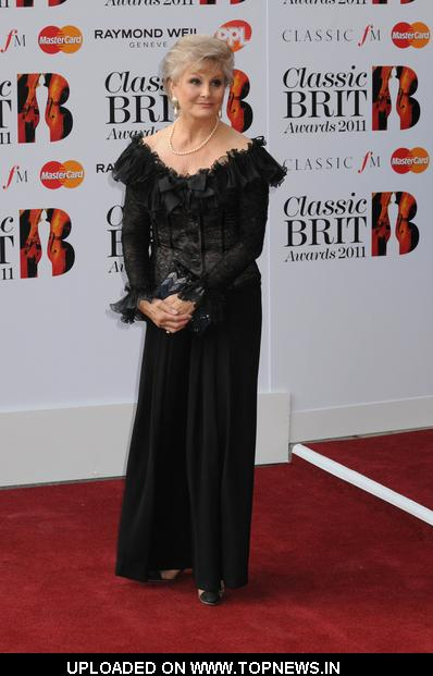 Angela Rippon at Classic BRIT Awards 2011 - Arrivals