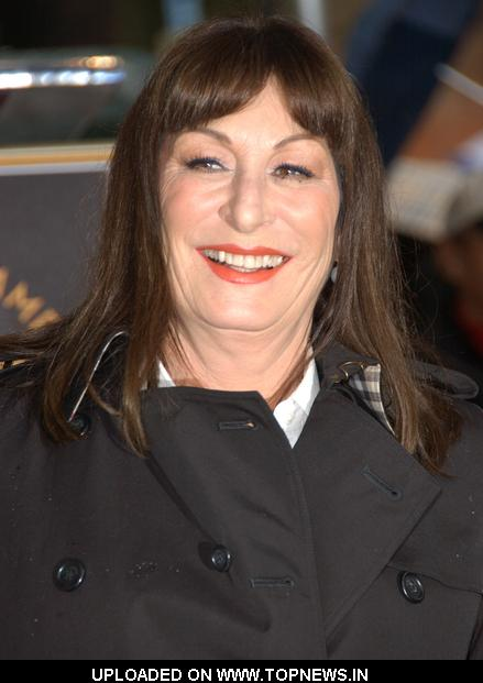Anjelica Huston Honored With A Star On The Hollywood Walk Of Fame