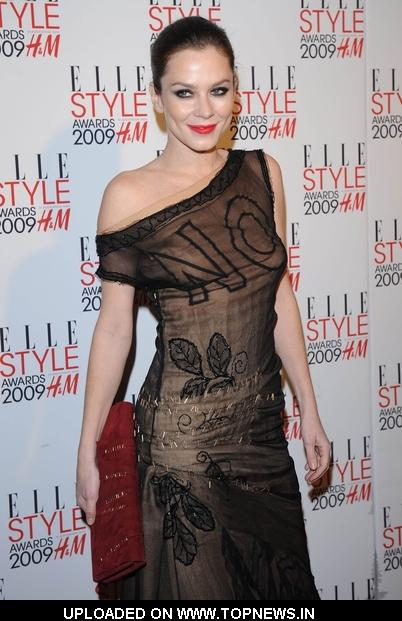 Anna Friel at  2009 Elle Style Awards - Arrivals