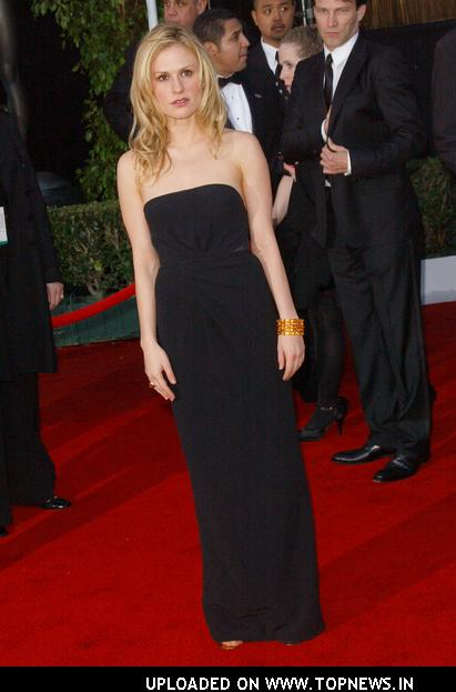Anna Paquin at 14th Annual Screen Actors Guild Awards - Arrivals