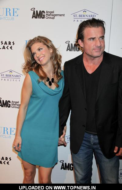 Dominic Purcell at AnnaLynne McCord Kicks-off Women's Rebuild for the St. Bernard Project at Pure Nightclub