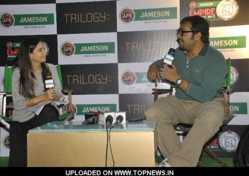 Anurag Kashyap at Empire Awards press meet, Trilogy