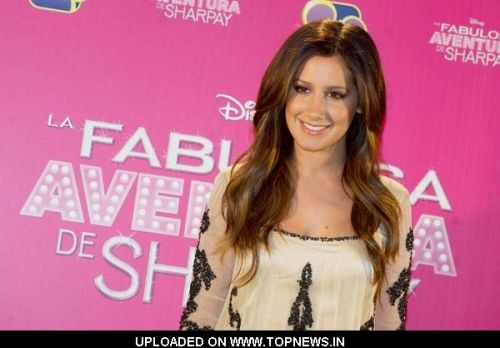 "Ashley Tisdale at ""Sharpay's Fabulous Adventure"" Madrid Photocall"
