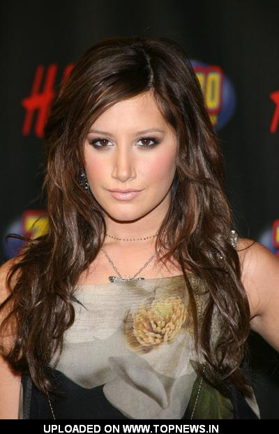 Ashley Tisdale at Z100's Jingle Ball 2008 - Press Room
