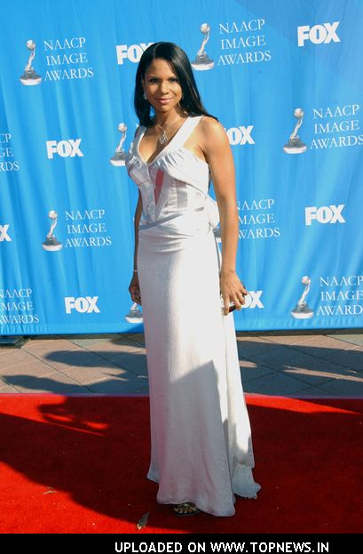 Audra McDonald at The 39th NAACP Image Awards - Arrivals