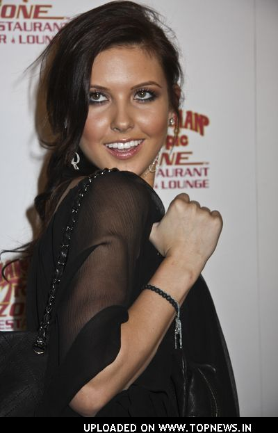 Audrina Patridge at Hawaiian Tropic Zone Heats Up Las Vegas Strip
