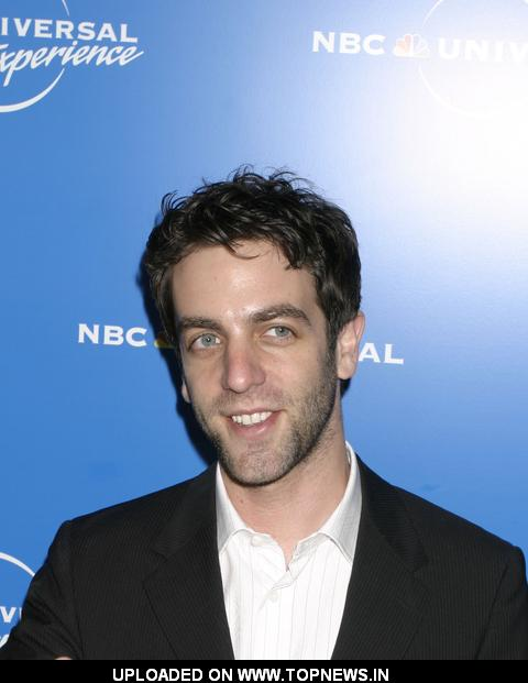 B.J. Novak at The 2008 NBC Universal Experience Upfronts - Arrivals