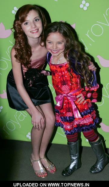 "Caitlin Carmichael at Kaili Thorne's 18th Birthday Party ""Nightmare After Birthday Party"" at Royal T in Culver City"