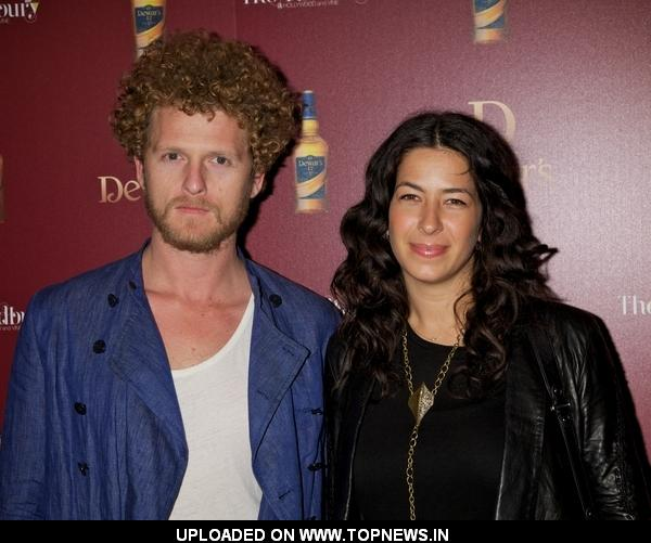 Ben Shulman, Rebecca Minkoff at Dewar's Press Conference at the Redbury Hotel in Hollywood on March 23, 2011
