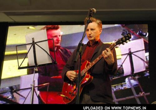 Billy Bragg Perform at the HMV Flagship Store in London