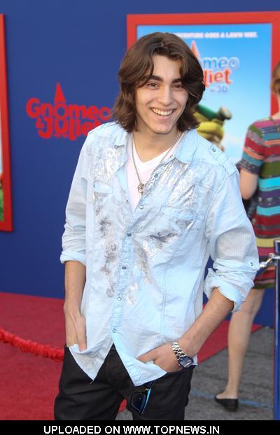 "Blake Michael at ""Gnomeo & Juliet"" Los Angeles Premiere - Arrivals"