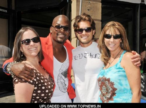 Tionne Williams, Luke Menard and Mary McCulley at Children's Hospital Los Angeles Celebrate Life with HOPE 2011