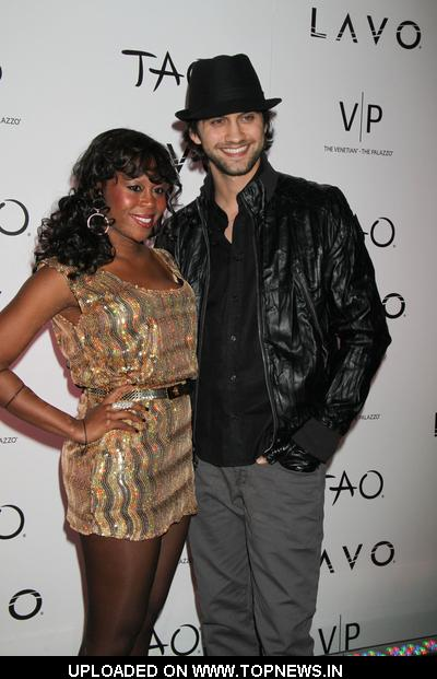 Brandee Tucker at  Christina Aguilera and Nicole Richie Host New Years Eve at TAO and LAVO in Las Vegas on December 31, 2009