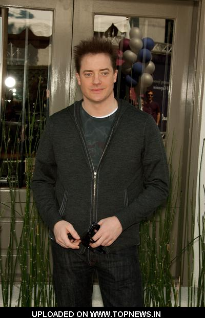 Brendan Fraser at The John Varvatos 7th Annual Stuart House Benefit
