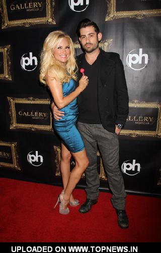 Nick Carpenter and Bridget Marquardt Celebrates Birthday at Gallery Nightclub in Vegas