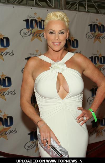 Brigitte Nielsen At 19th Annual Night Of 100 Stars Gala Arrivals Topnews