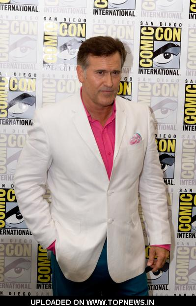 "Bruce Campbell at Comic-Con International: San Diego 2011 - Day 1 - ""Burn Notice: The Fall of Sam Axe"" Photocall"