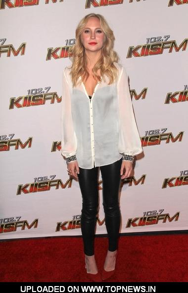 Candice Accola at KIIS FM's Jingle Ball 2011 - Arrivals