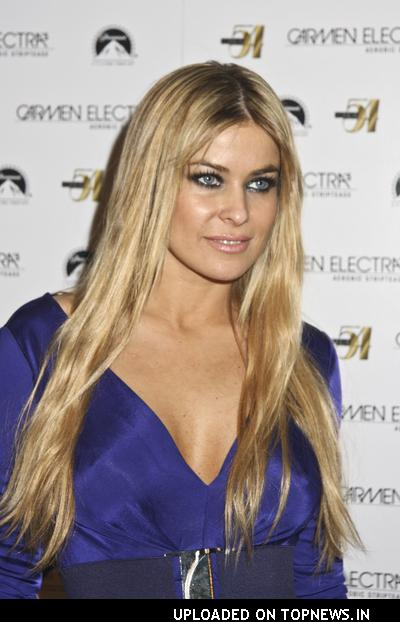 Carmen Electra Hosts Striptease DVD Launch Party at Studio 54 in Las Vegas