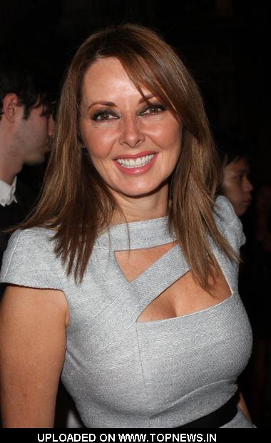 "Carol Vorderman at ""Buzz"" Magazine London Launch Party - Arrivals"