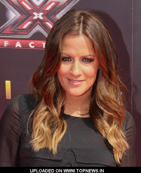 "Caroline Flack at ""The X Factor"" Press Launch Photocall"