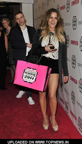 Caroline Flack at Cosmopolitan Ultimate Women of the Year Awards 2011 - Outside