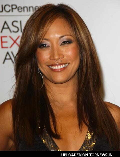 Carrie Ann Inaba at Press Conference to Announce The Nominees for the 2008 JcPenney Asaian Excellence Awards